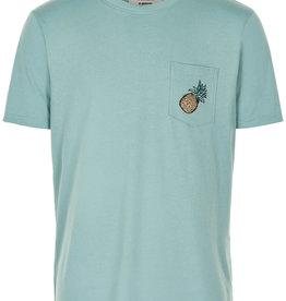Anerkjendt Anerkjendt Akrod Pineapple Tee Cameo Blue