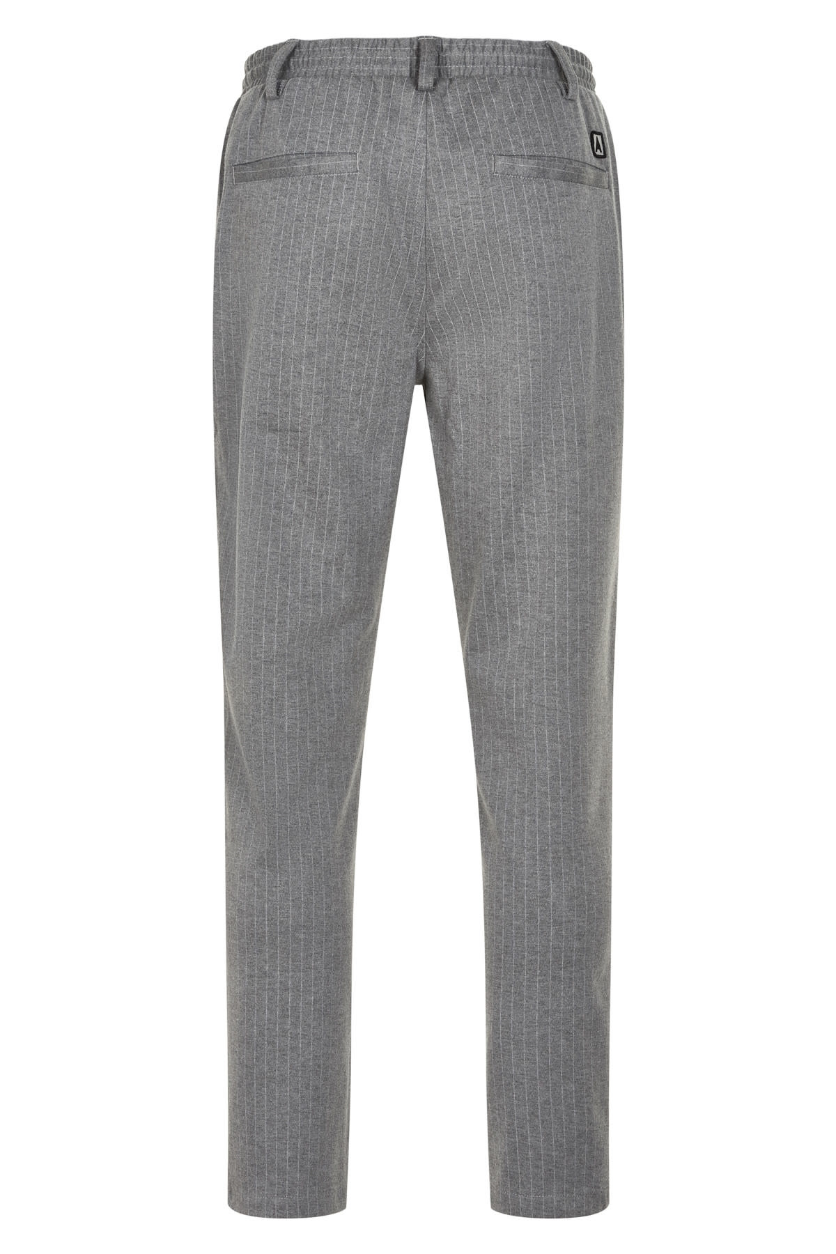 Anerkjendt Anerkjendt Akbuddy Stripe Pant Caviar Stell Grey