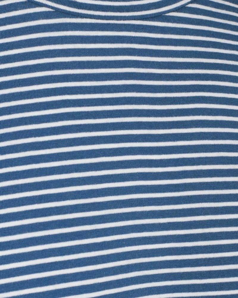 Minimum Minimum Luka Tee 3254 Stripe True Navy