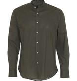 Clean Cut Clean Cut Mao L/S Shirt Dusty Green