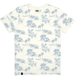 Dedicated Dedicated Stockholm Riviera Bikes Tee Off White