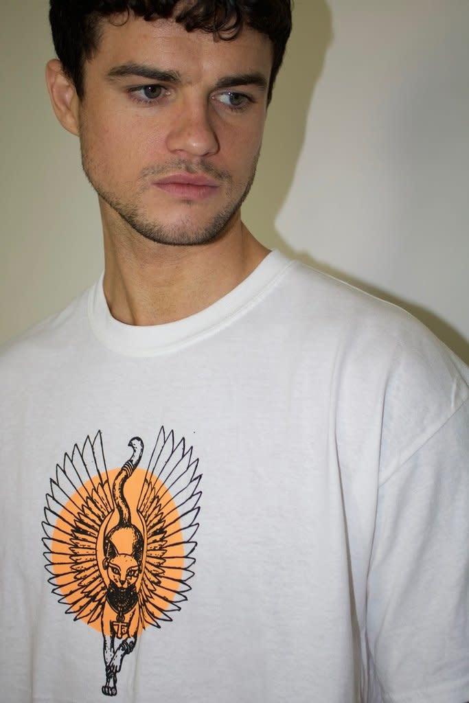 HNR LDN Honour Londen Wings Oversized Tee White