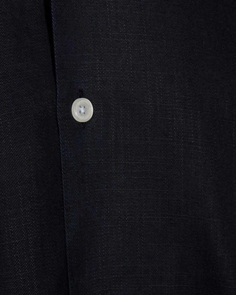Minimum Minimum Emanuel 6987 Tencel Shirt Dark Sapphire