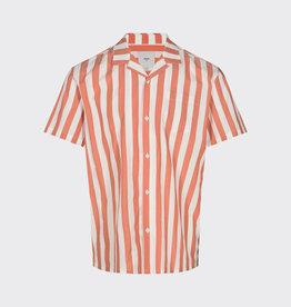 Minimum Minimum Emanuel Stripe 6680 Shirt Baked Clay Orange