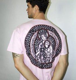 HNR LDN Honour Londen Divine Mother Oversized Tee Pink