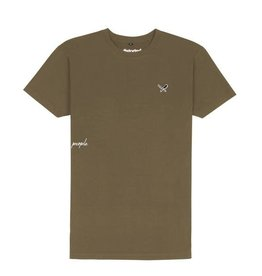 Distorted People Distorted People Classic DP Premium Grand Crew Neck Tee 2701 Army Green