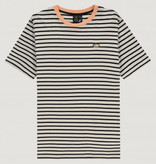 Kultivate Kultivate Caravan Stripe Tee Off White/Black