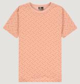 Kultivate Kultivate Tribe Tee Coral Pink Melange