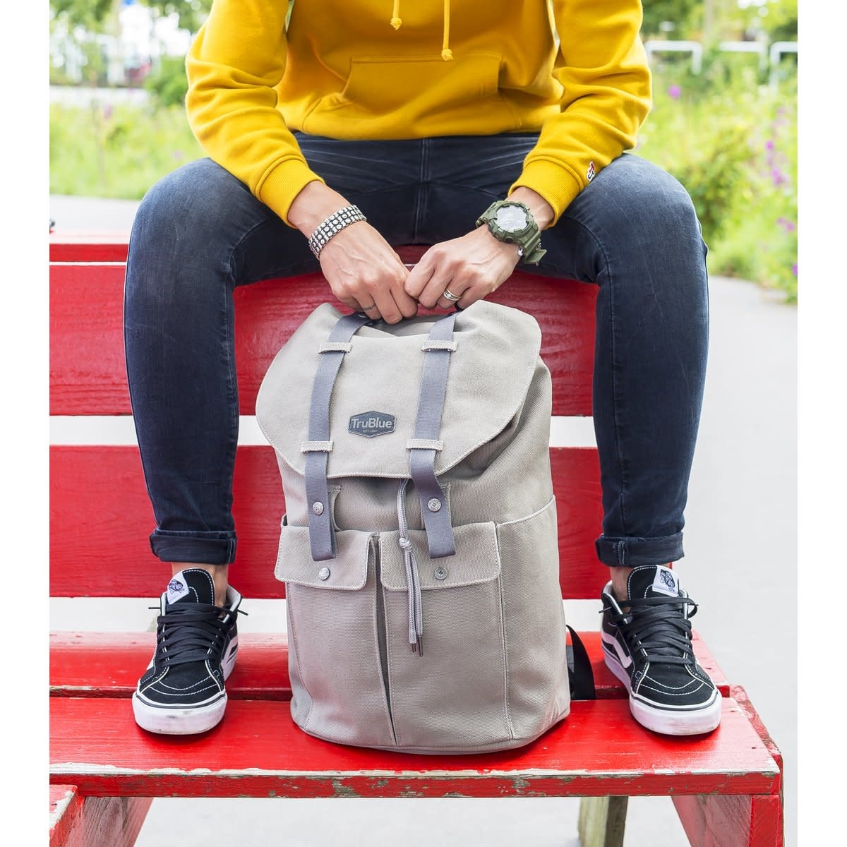 TruBlue TruBlue The Pioneer Backpack Athabasca Grey