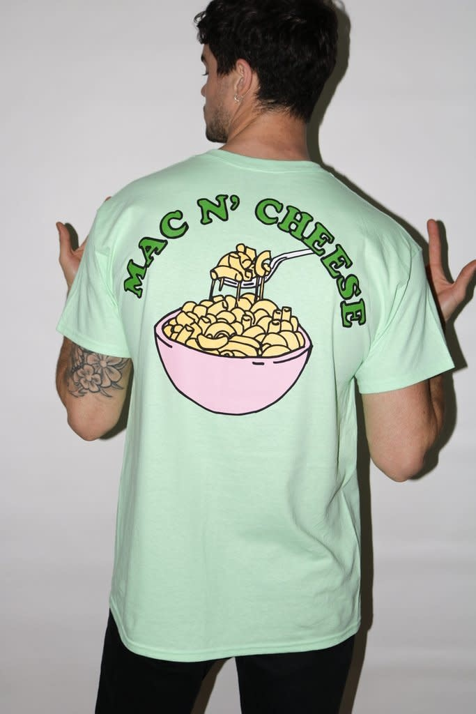 New Love CLub New Love Club Mac N'Cheese Tee Mint Green