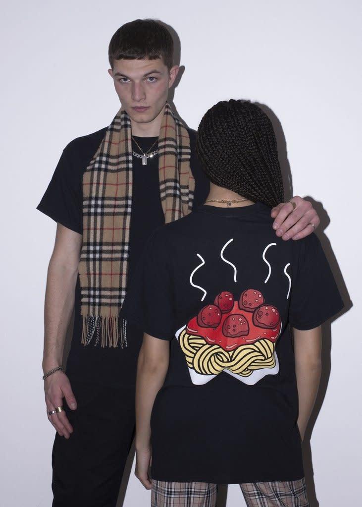 New Love CLub New Love Club Meatball Tee Black