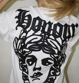 HNR LDN Honour Londen Face Oversized Tee White