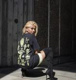 HNR LDN Honour Londen Neon Tattoo Oversized Tee Black