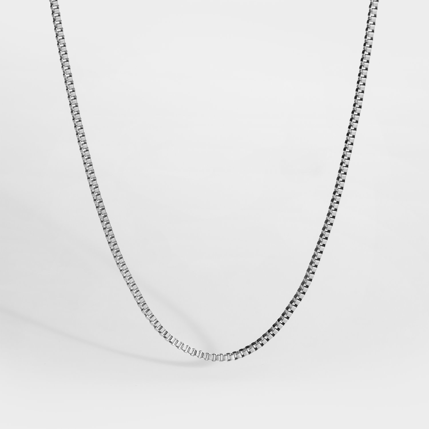 Northern Legacy Northern Legacy Boxchain Necklace Silver