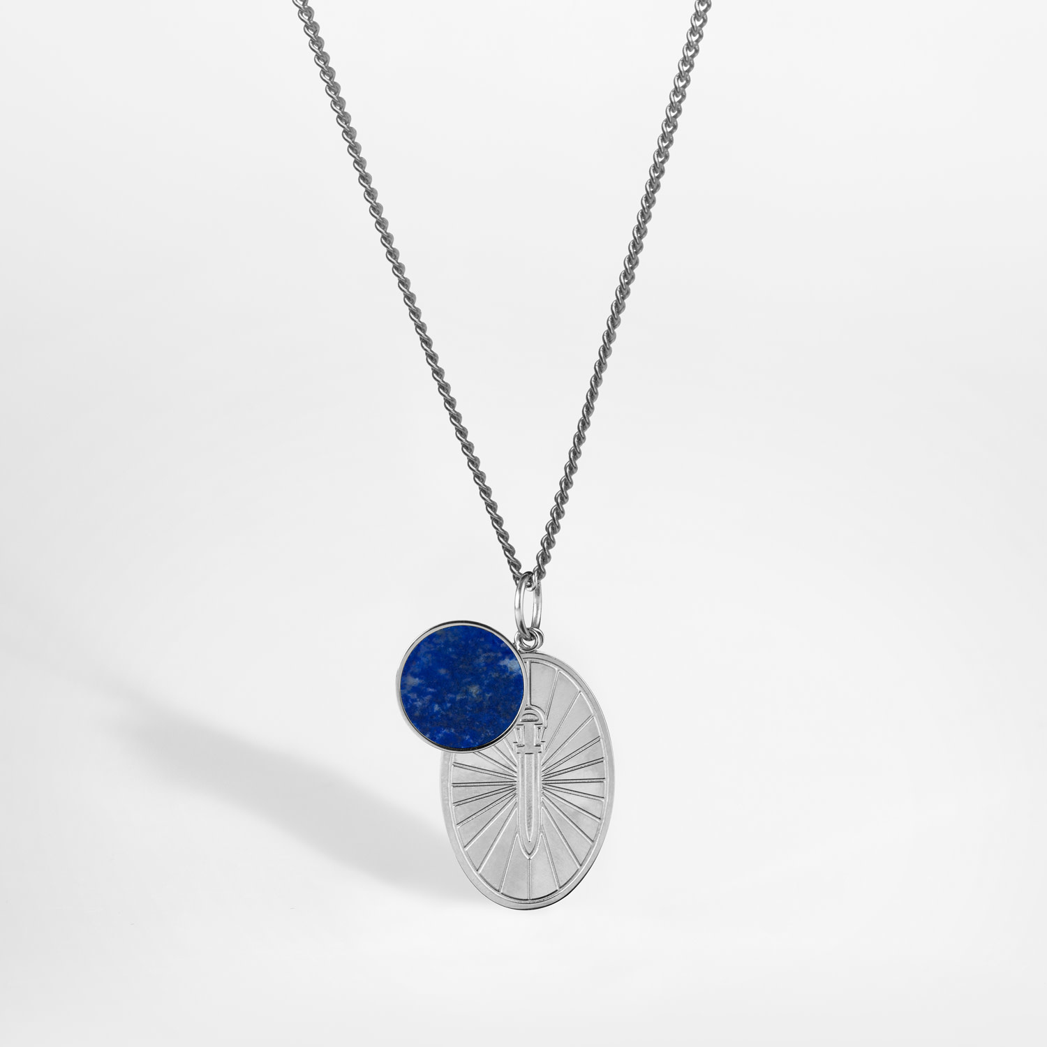 Northern Legacy Northern Legacy Gungnir-Lapis Necklace Silver/Blue