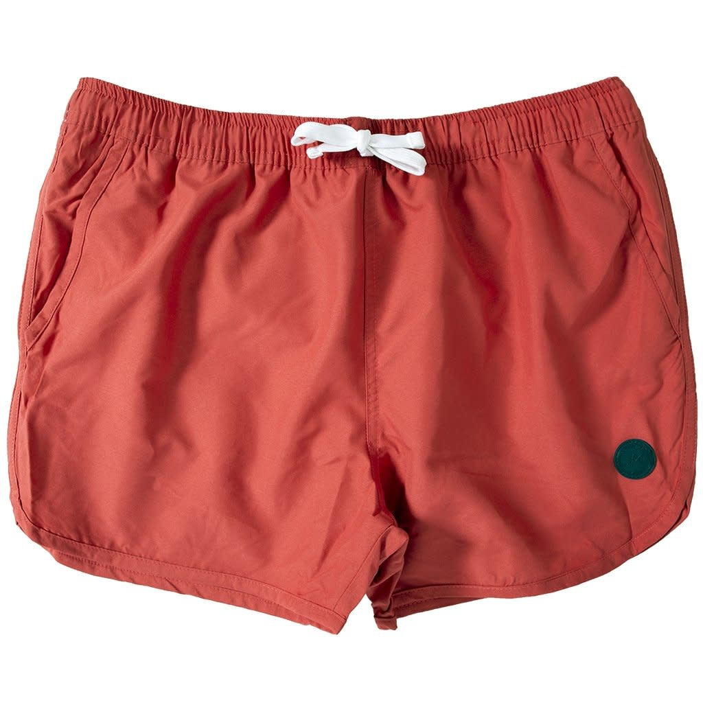 Kronstadt Kronstadt Louis Swim Short Dark Red