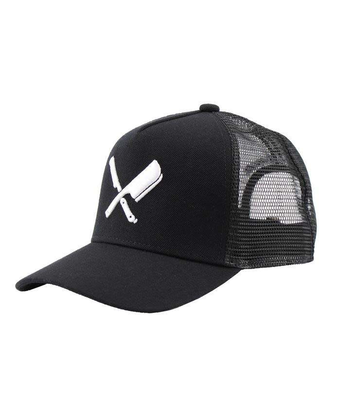 Distorted People Distorted People Blades Trucker Cap Black/White