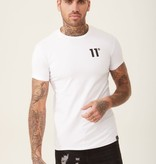 11 Degrees 11 Degrees Core Muscle Fit Tee White