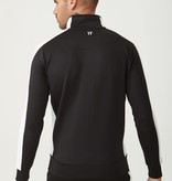11 Degrees 11 Degrees Core Poly Panel Track Top Black/White