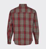 Minimum Minimum Tobi 7313 Overshirt Red Ochre