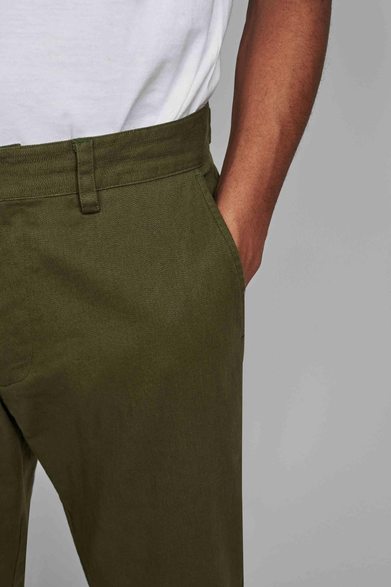 Anerkjendt Anerkjendt Akjohn Noos Pants 900084 Cypress Green