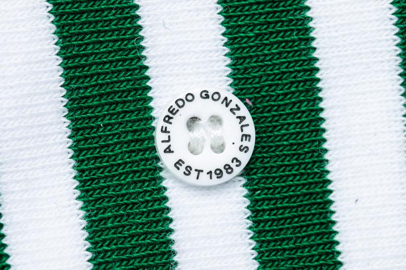 Alfredo Gonzalez Alfredo Gonzales Candy Cane Socks Green/White