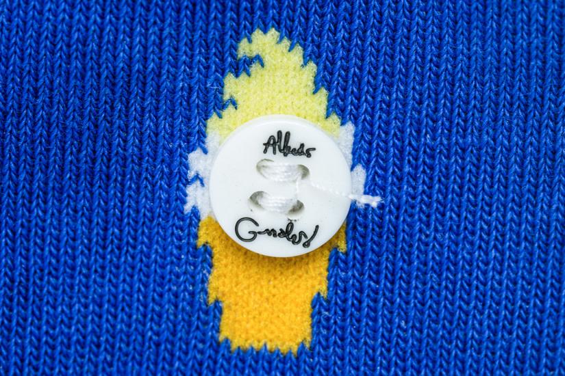 Alfredo Gonzalez Alfredo Gonzales Ice Cream Socks Blue