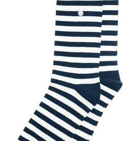 Alfredo Gonzalez Alfredo Gonzales Harbour Stripes Socks Navy/White