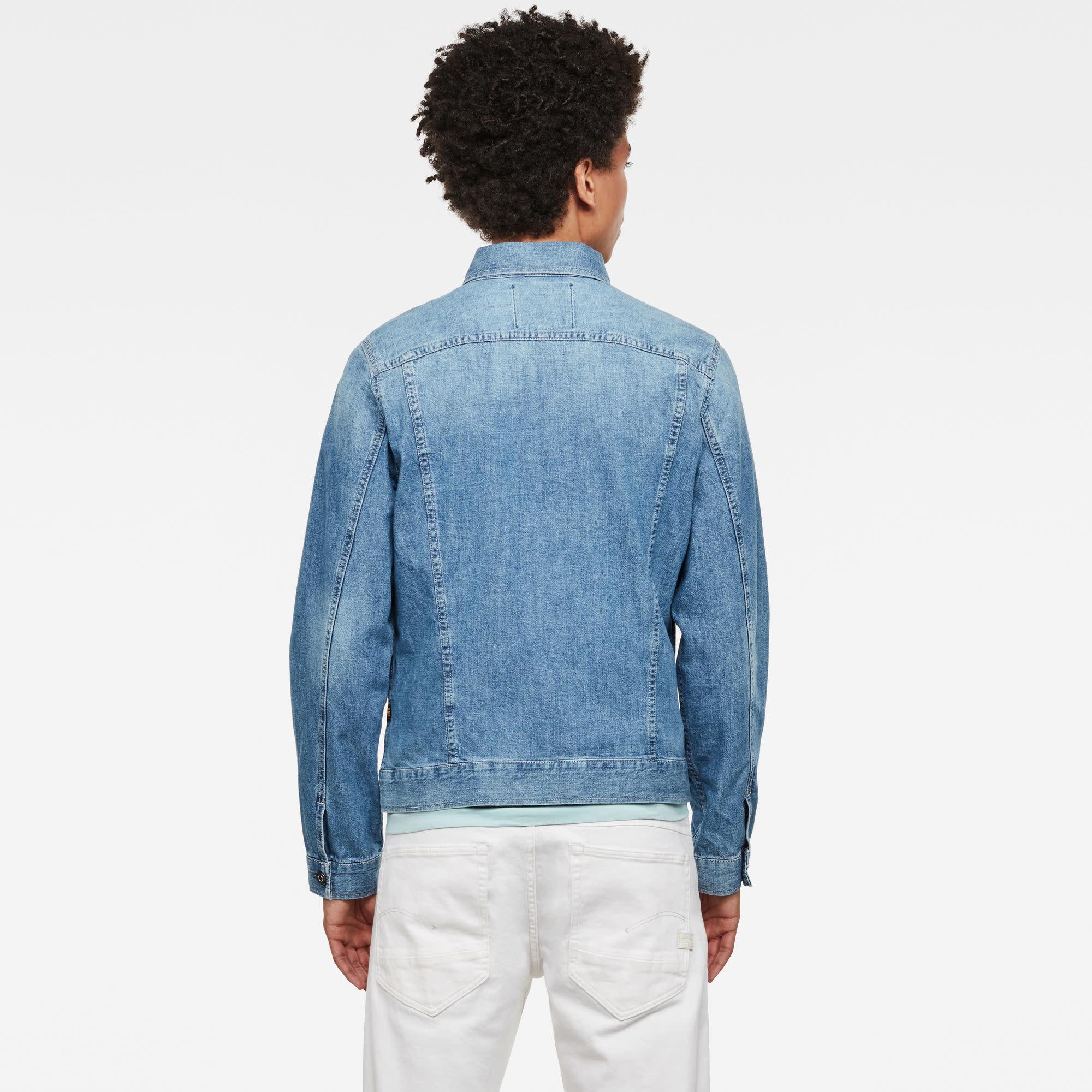 G-Star G-Star 3301 Slim Denim Jacket B250-B723 Faded orion blue