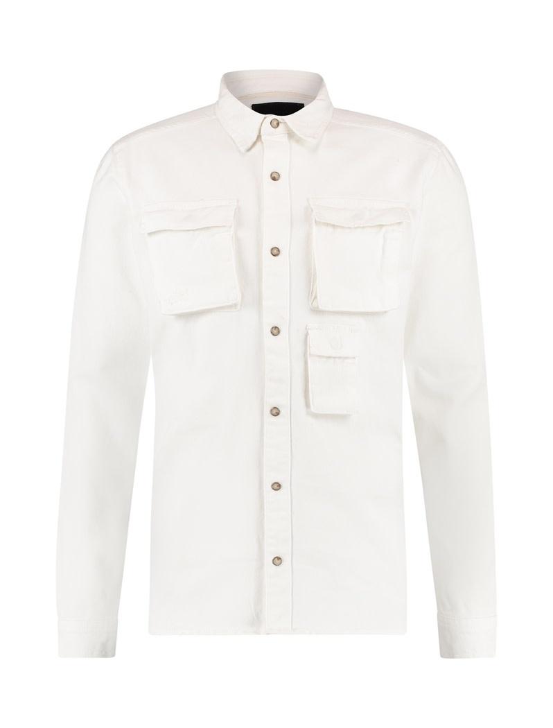 Pure White Pure White 20030210 Denim Shirt Off White