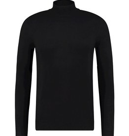 Pure White Pure White Essential Mockneck Knit Black