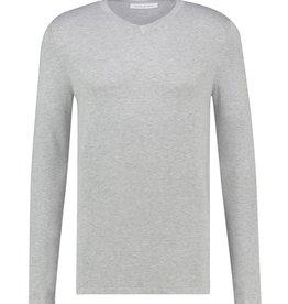 Pure White Pure White Essential V-Neck Knit Grey