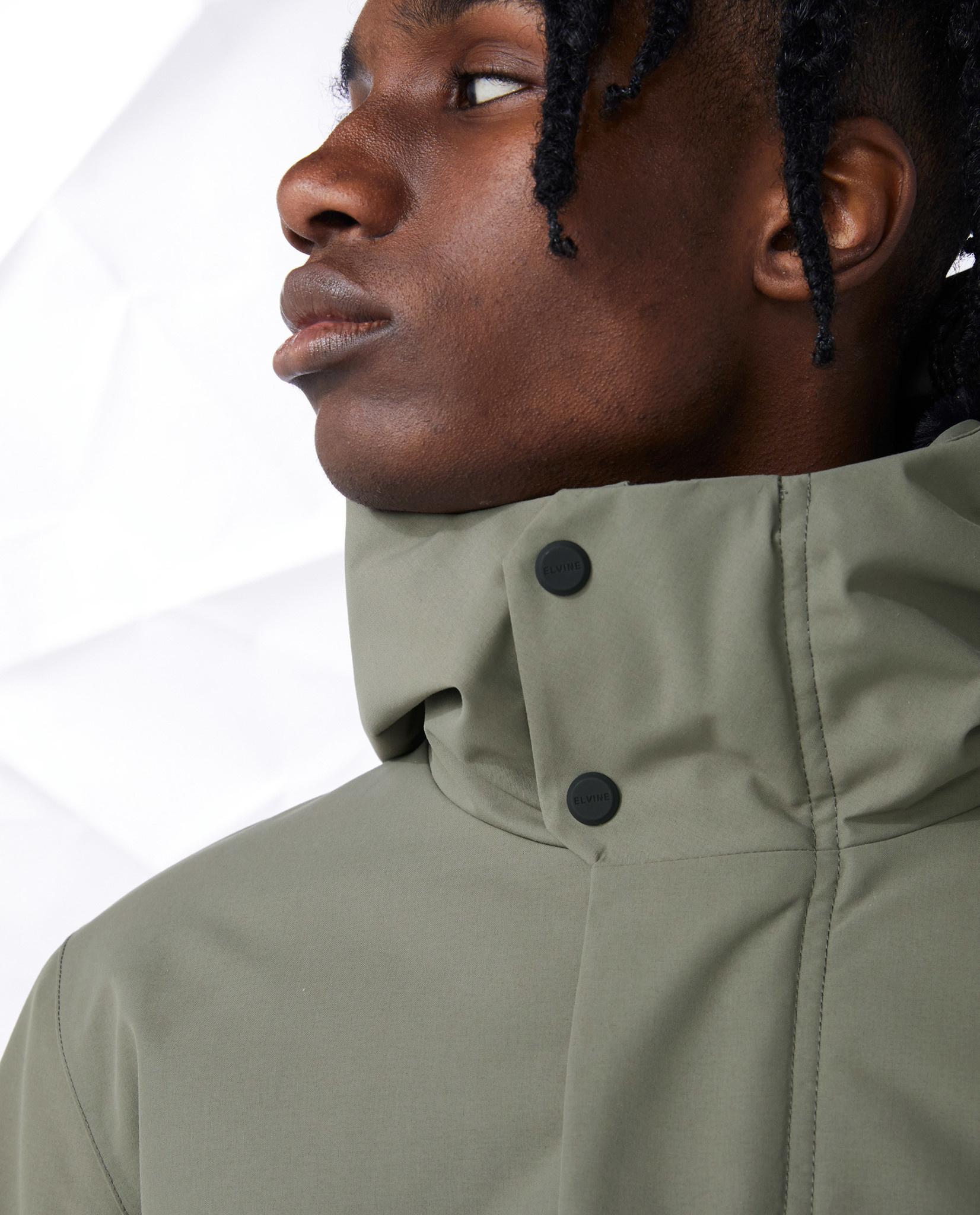 Elvine Elvine Barnard Jacket Castor Green