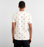 Dedicated Dedicated Super Mario Pattern Stockholm Tee Off White