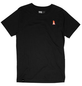 Dedicated Dedicated Peach Stockholm Tee Black
