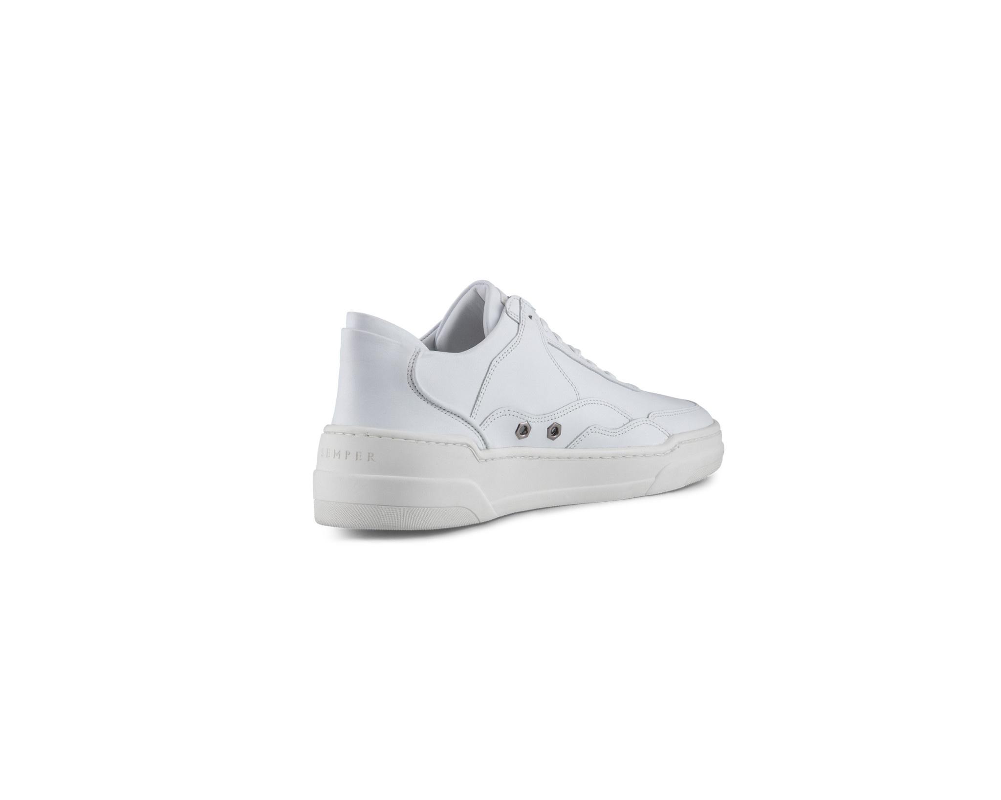 Semper Semper Vulcan Sneaker Glacies White