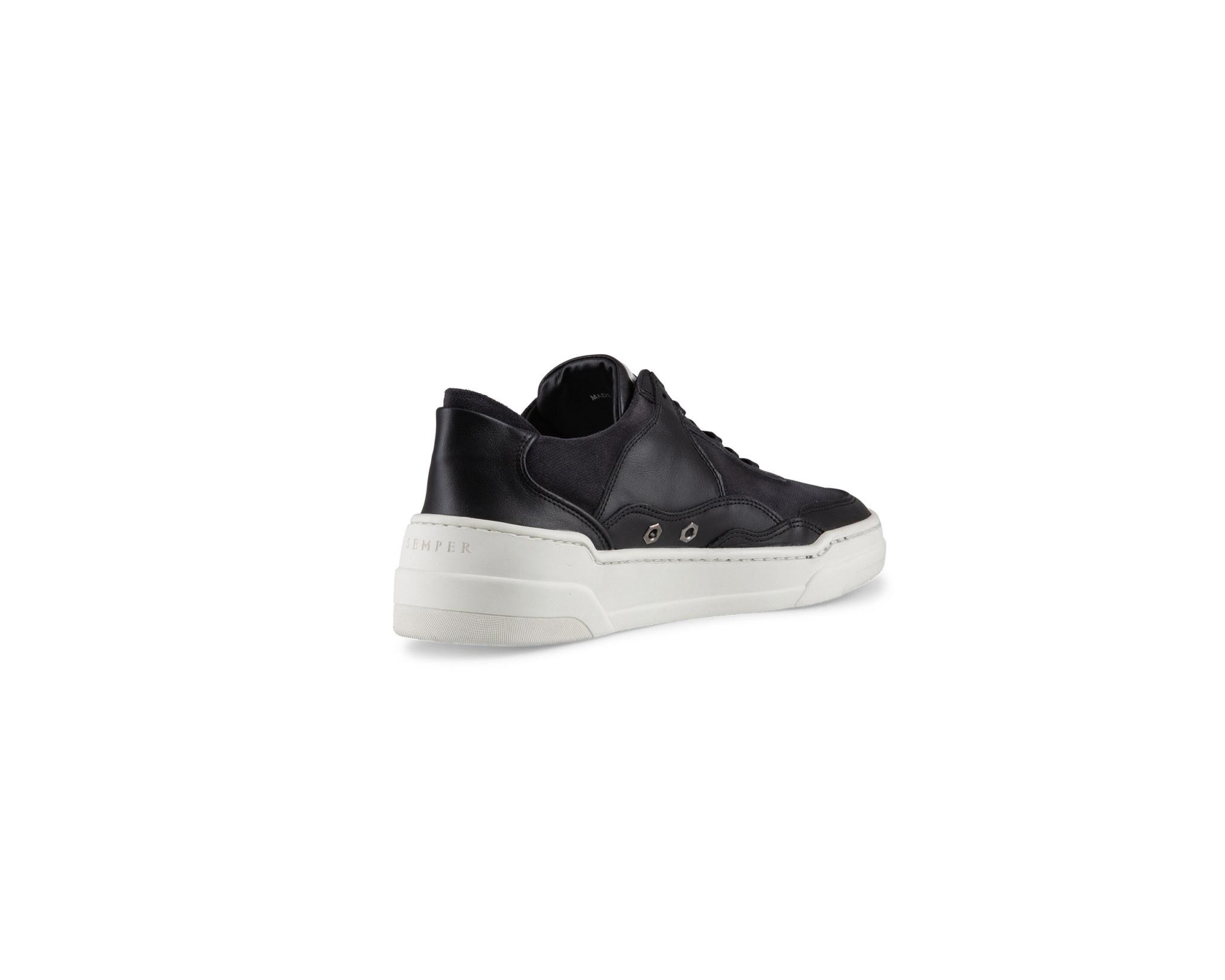 Semper Semper Vulcan Sneaker Nero Mixed Black