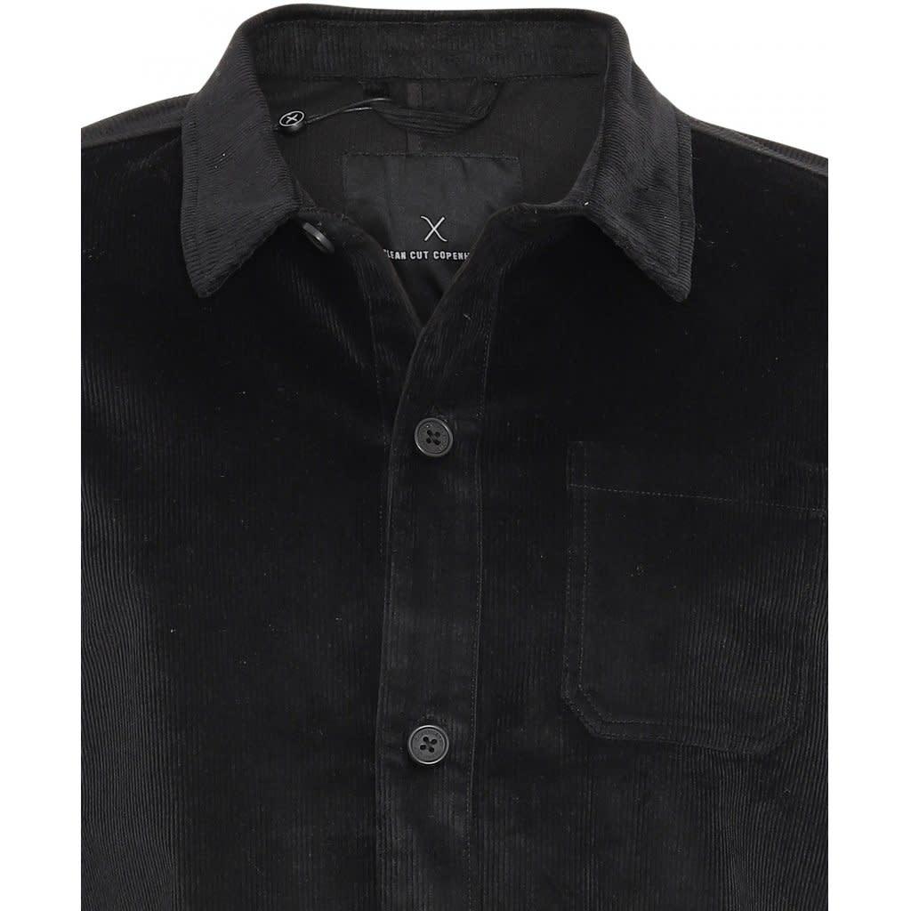 Clean Cut Clean Cut Steve Overshirt Black