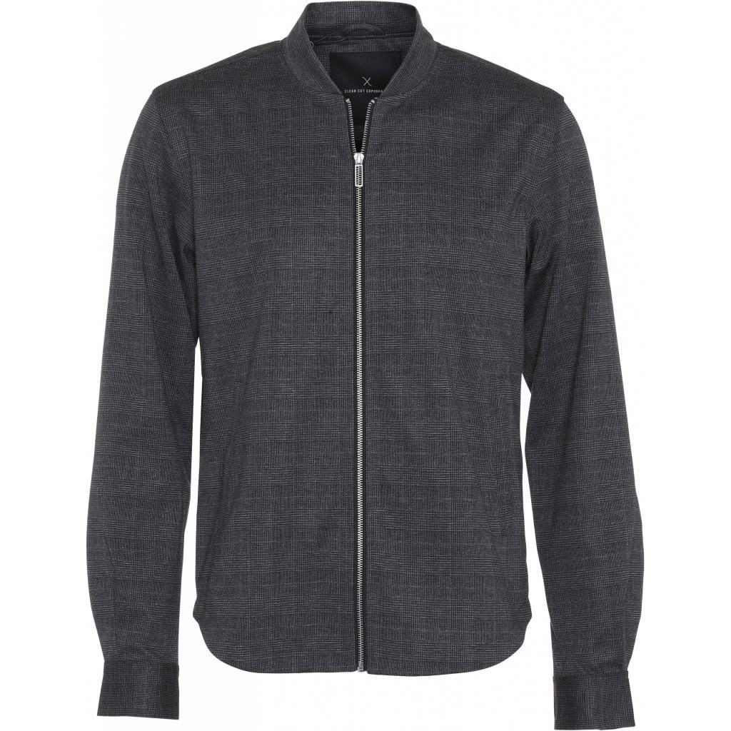 Clean Cut Clean Cut Ken Overshirt Dark Grey/Camel