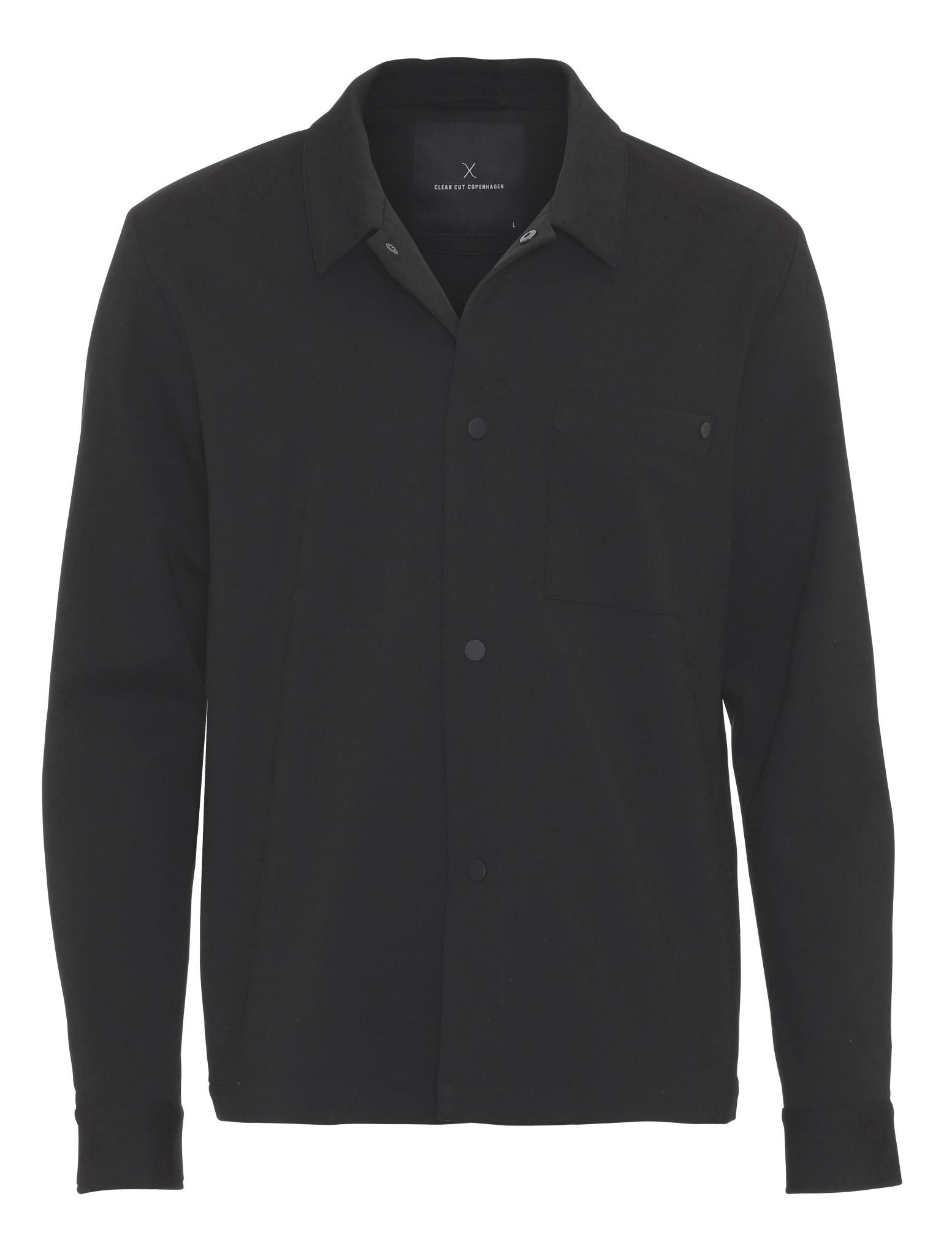 Clean Cut Clean Cut Alexander overshirt Black