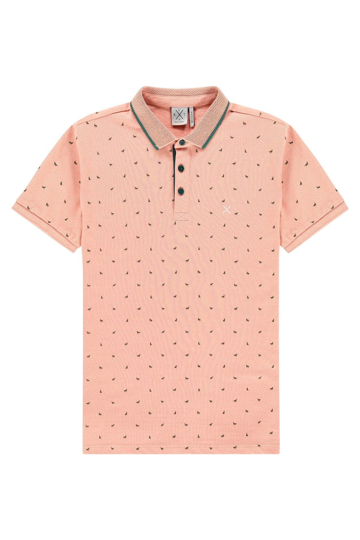 Kultivate Kultivate Wolf Polo Dusty Pink