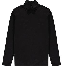 Kultivate Kultivate Long Neck Coll Tee Black