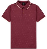 Kultivate Kultivate Hexagon Polo Tibetan Red
