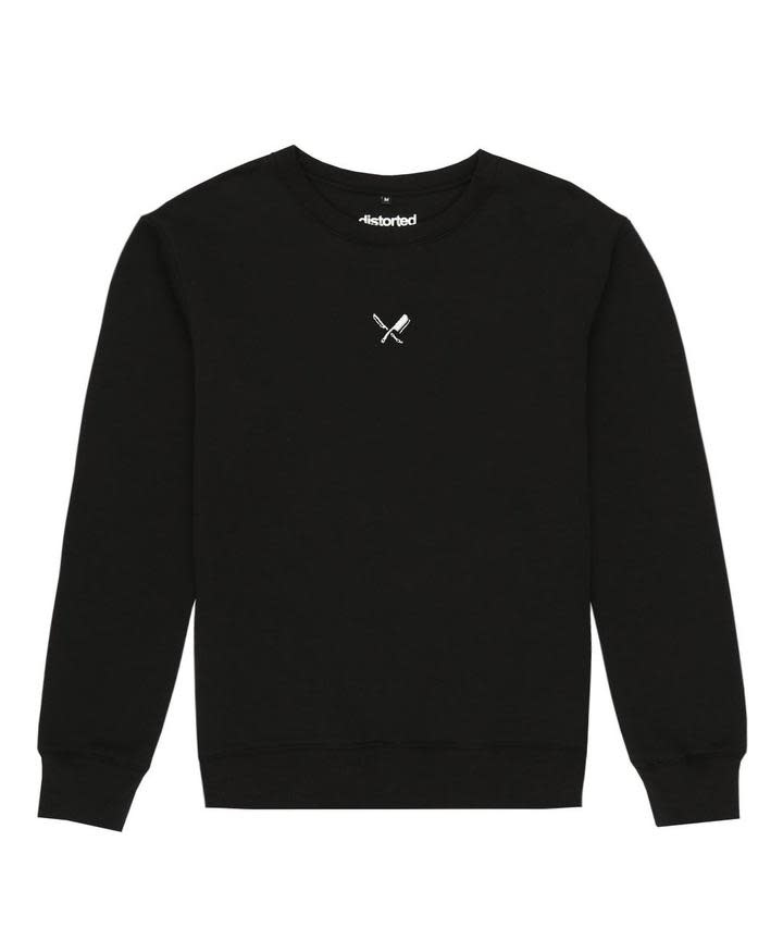 Distorted People Distorted People Oversized Sweater Black