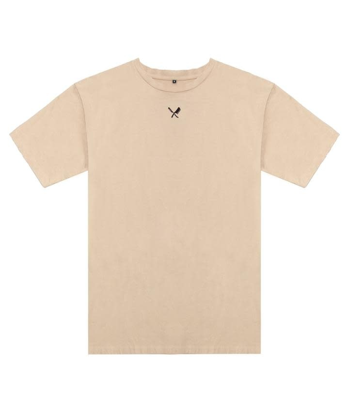 Distorted People Distorted People Classic Heavy Oversized Tee Light Sand