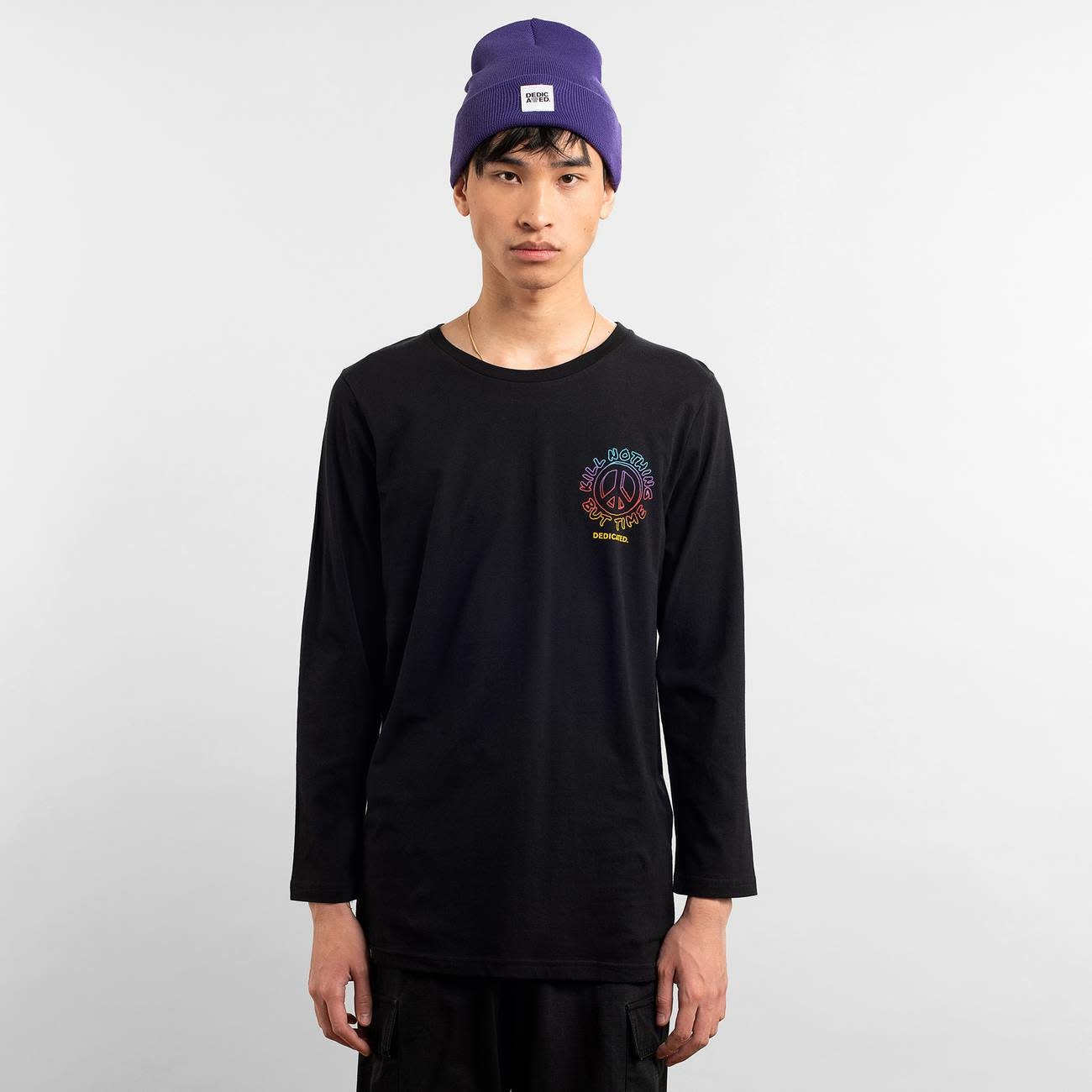Dedicated Dedicated Hasle Kill Nothing Long Sleeve Tee Black