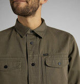Lee Lee Military Worker Shirt Olive Green