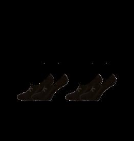 Muchachomalo Muchachomalo Sneaker Sock 2-Pack Black