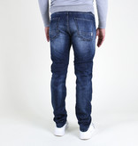 Fifty Four Fifty Four Rages JD81 T41 Slim Fit Jeans Damaged Blue