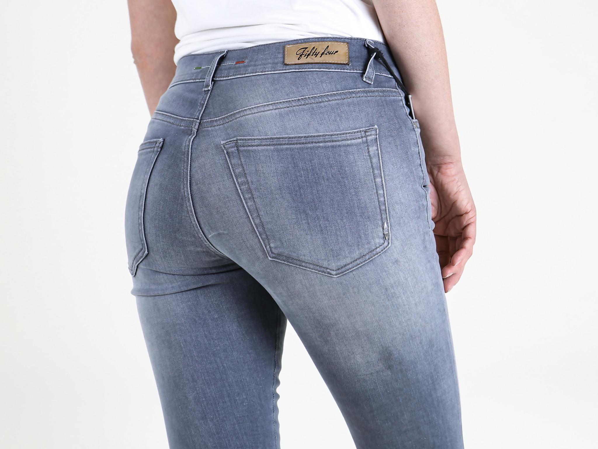 Fifty Four Fifty Four Sixty JD98 FA-142-M Skinny Jeans Washed Grey Denim